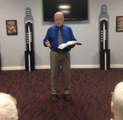 Pastor James Bartz