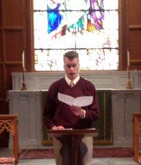 Pastor Nathan Fager