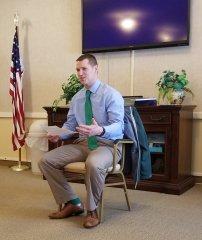 Pastor Joel Voss